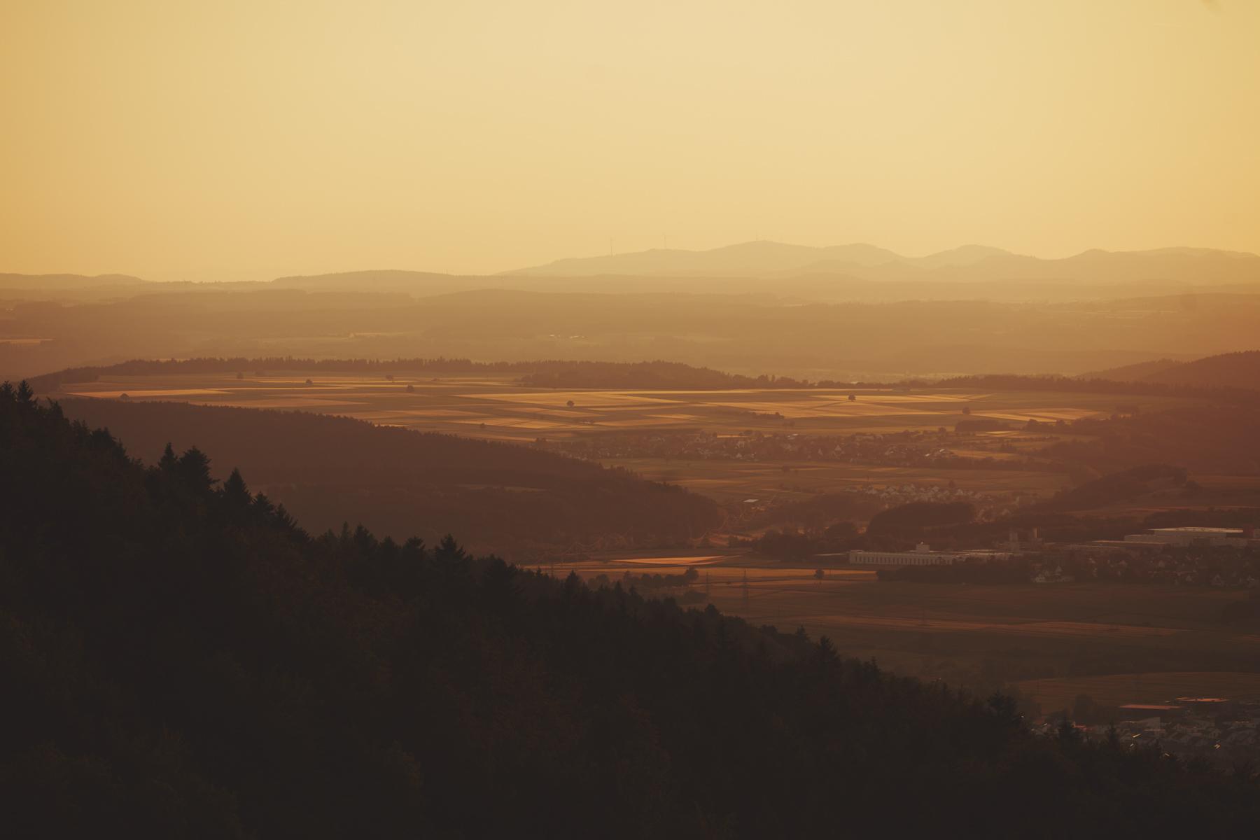 Blick vom Lochenstein bei Balingen