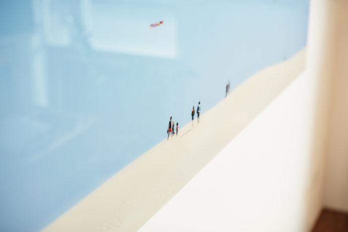 """""""Der tragende Traum"""" (Fuerteventura Projekt 2017), auf Diasec von Fotograf Nino Strauch"""