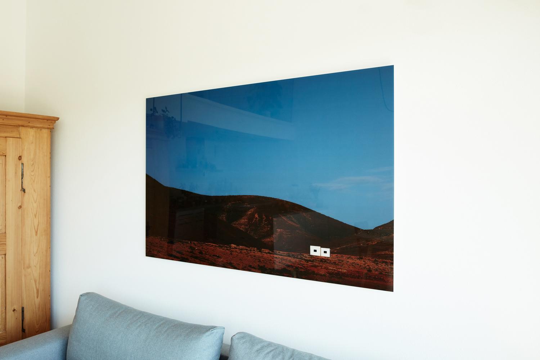 """""""La plana"""" (Fuerteventura Projekt 2016), auf Diasec von Fotograf Nino Strauch"""
