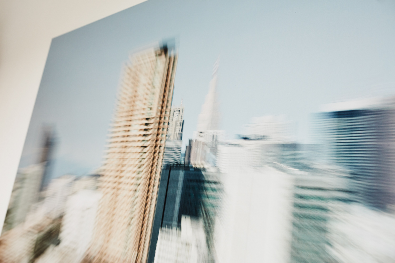 """Ropongi 2"" (Tokio Projekt 2014), Fotoabzug (matt) auf Alu Dibond von Fotograf Nino Strauch"