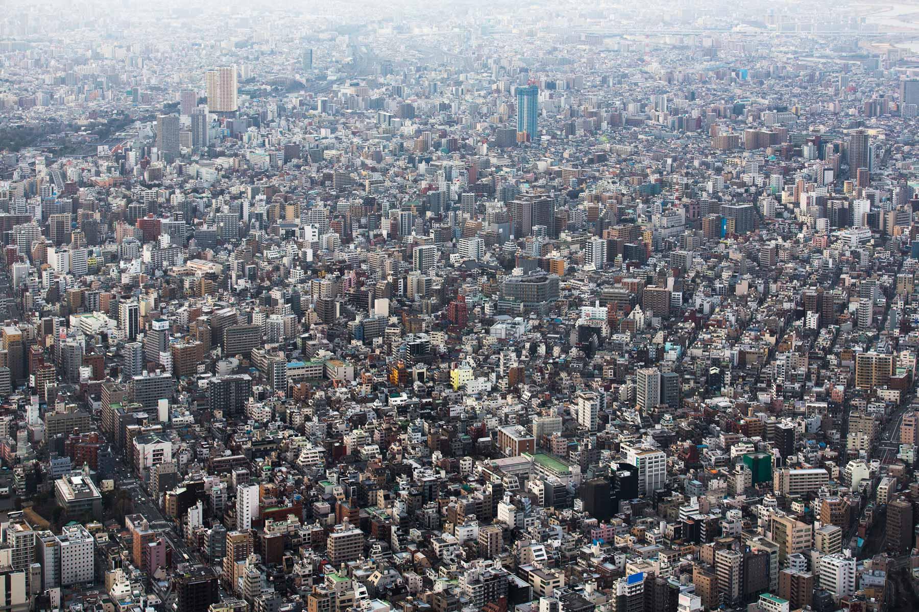Ein Blick auf die Metropole der Superlative Tokio/ Japan, 2014