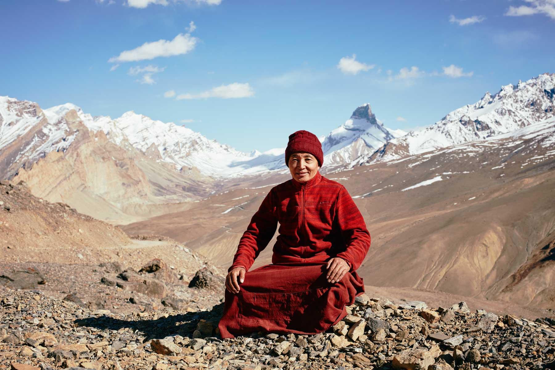 Lama Thsepel, kurz vor Photoksar/ Ladakh/ Indien, 2018