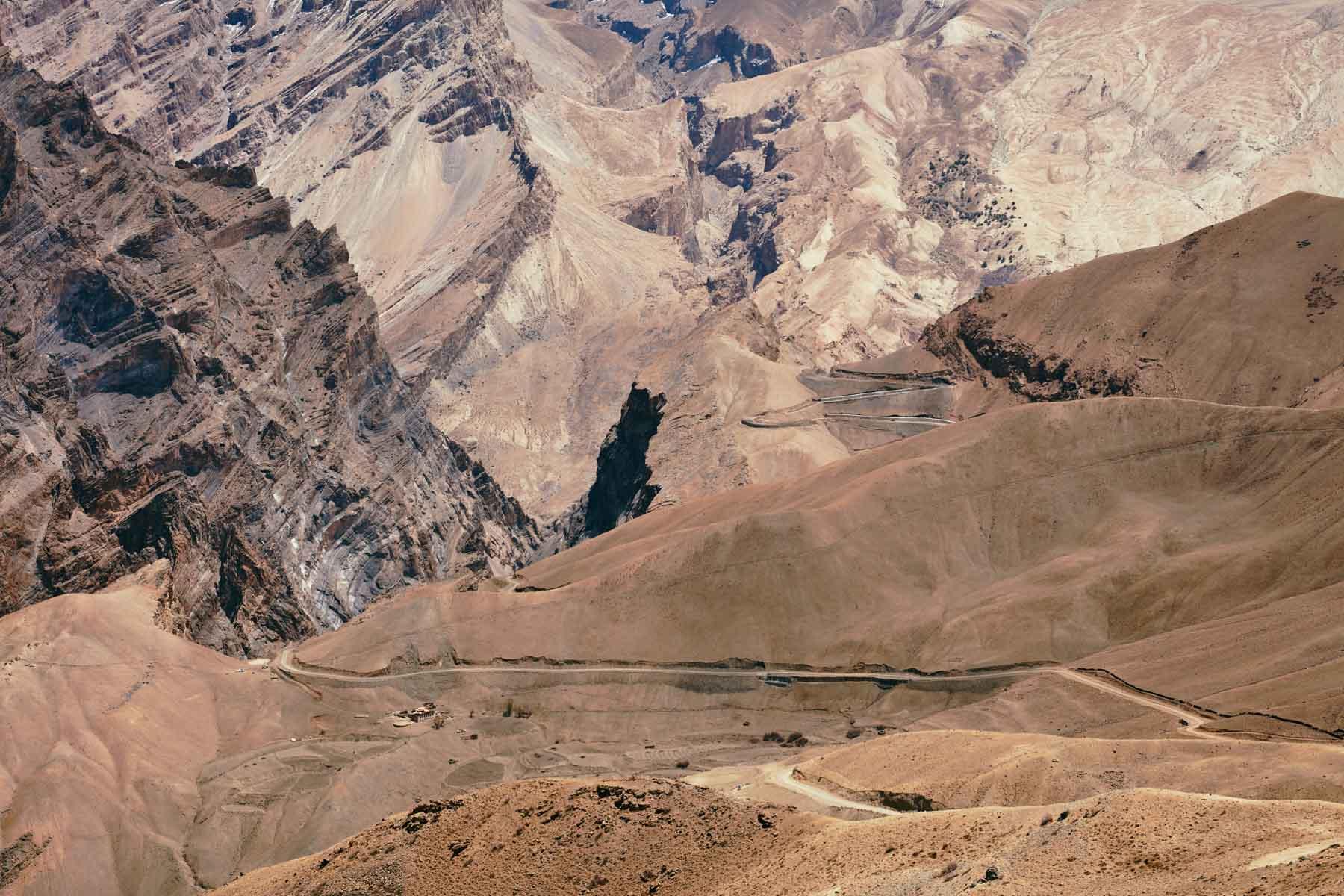 Der Weg von Photoksar nach Gongma/ Ladakh/ Indien, 2018