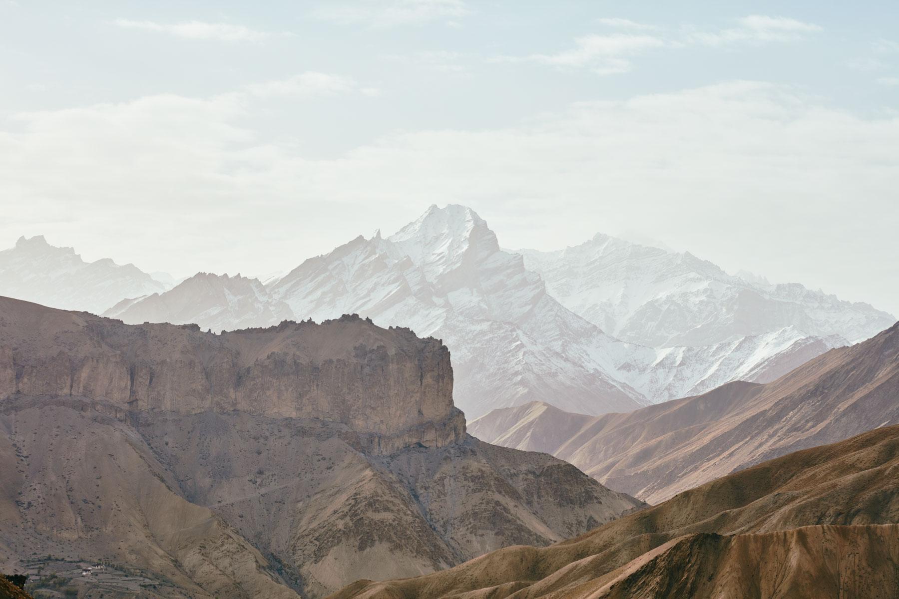 Ein Blick in das Himalaya in der Nähe von Lingshed/ Ladakh/ Indien, 2018