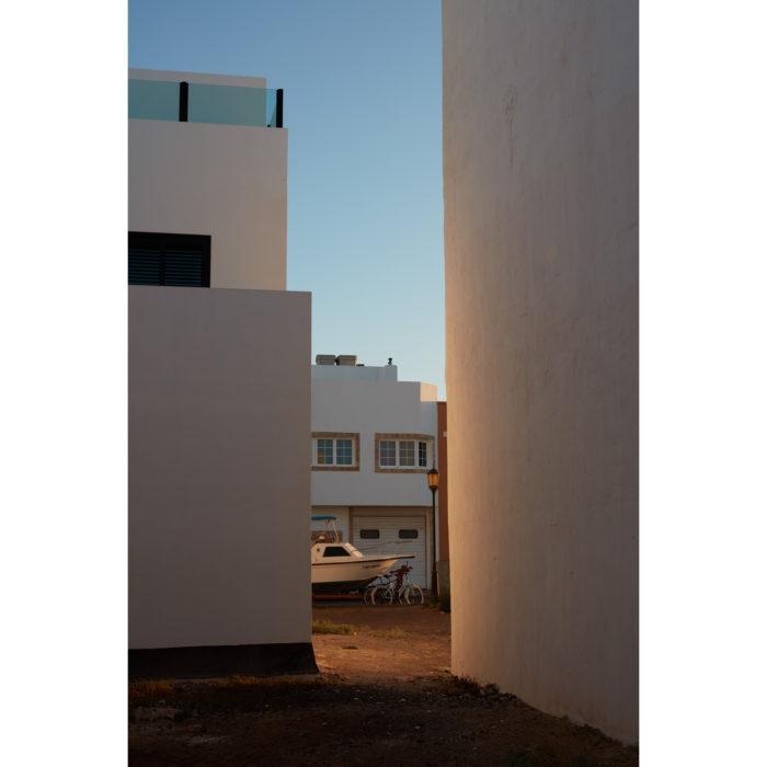 Boot im Abendlicht | Fuerteventura | Nino Strauch Fotograf Tübingen | Kunstdruck