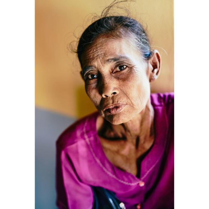 Portrait, Frau vom Archipel | Mergui, Myanmar | Nino Strauch Fotograf Tübingen | Fotokunst