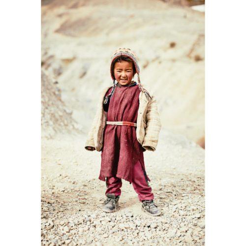 Portrait, Schulmädchen aus Lingshed | Ladakh, Indien | Nino Strauch Fotograf Tübingen | Fineartprint