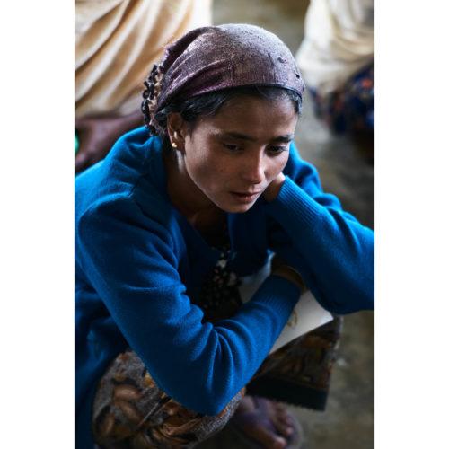 Portrait, Rohingya Frau | Sittwe, Myanmar | Nino Strauch Fotograf Tübingen | Fotokunst